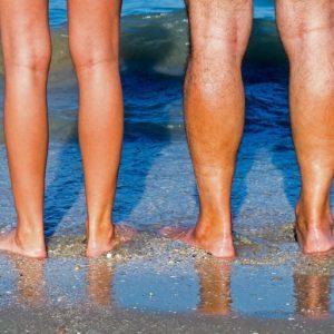gezonde benen man vrouw
